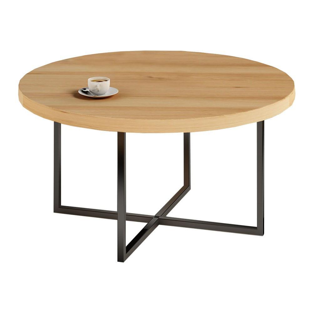 Znane Drewniany stolik kawowy loft industrial styl skandynawski OT-13
